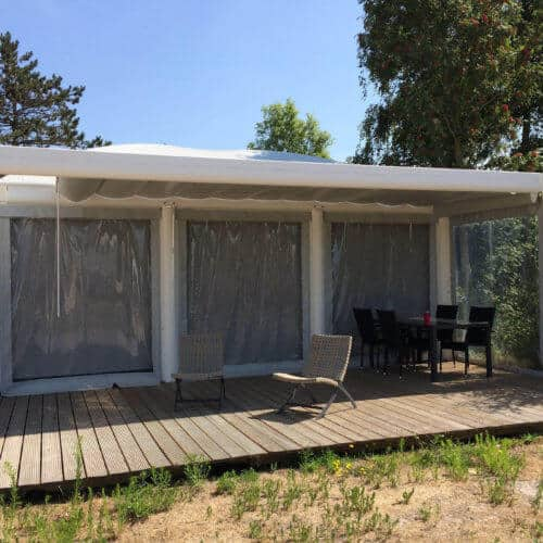 Glamping am Meer